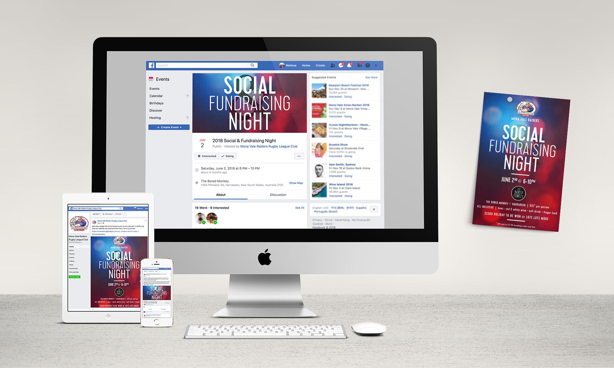 Social media graphics & A5 flyers